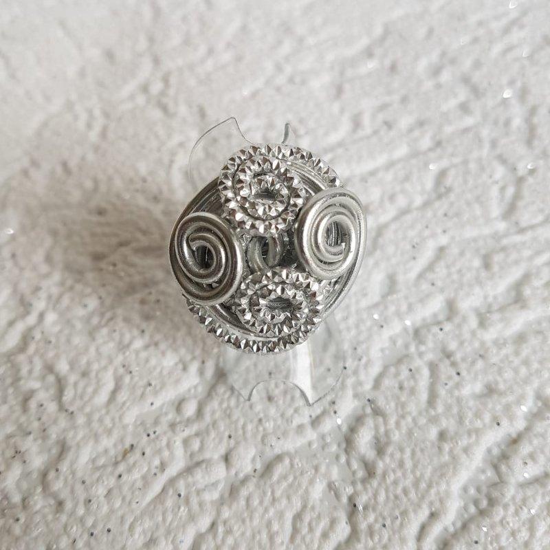 Ring Schneckchen in silber - beautiful